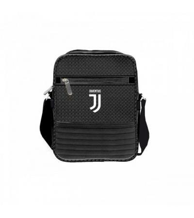 BORSELLO CASUAL IN PELLE NERO FC JUVENTUS