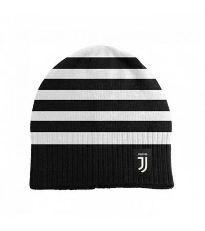 CAPPELLO LANA A RIGHE BIANCONERE FC JUVENTUS