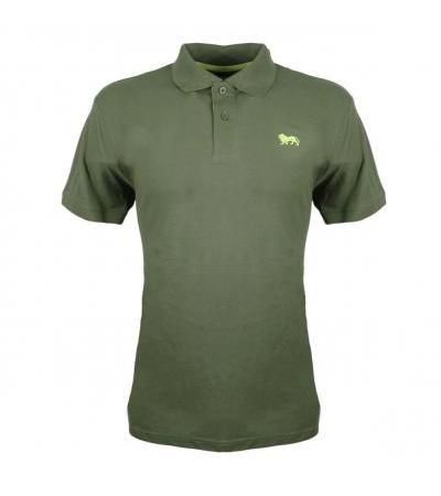 POLO CASUAL VERDE MILITARE LONSDALE