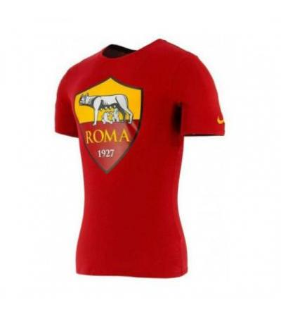 T-SHIRT CREST ROSSA DONNA AS ROMA