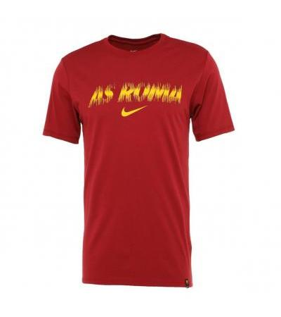 T-SHIRT DRY TEE ROSSA AS ROMA