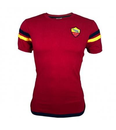 T-SHIRT ROSSA AS ROMA